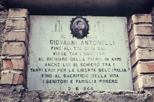 Giovanni's memorial
